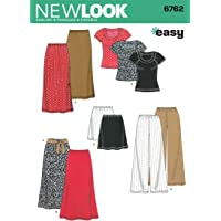 New Look Sewing Pattern 6762 Misses Separates, Size A (XS-S-M-L-XL)