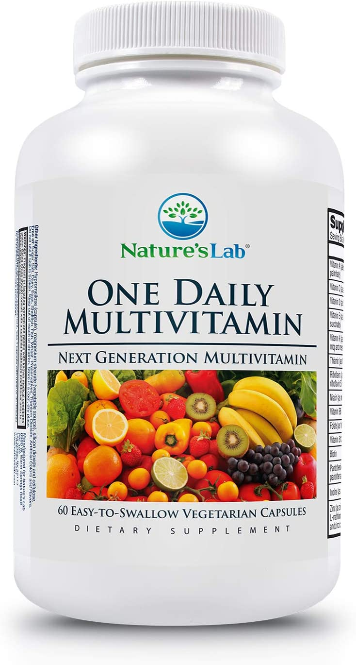 Amazon.com: Nature's Lab One Daily Multivitamin Capsules (2 Month Supply),  60 Count (Pack of 1): Health & Personal Care