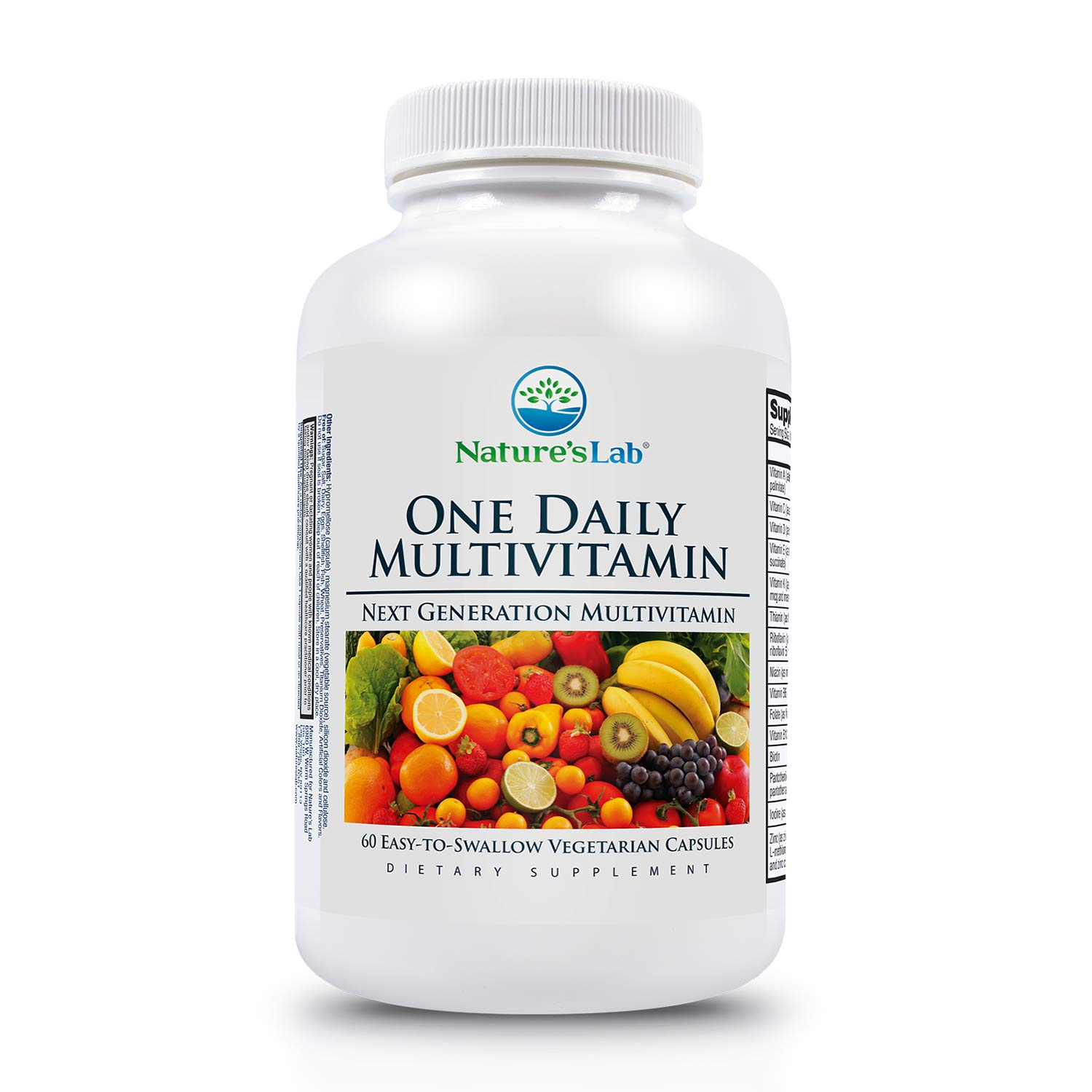 Natures Lab One Daily Multivitamin, 60 Count: Amazon.in: Health & Personal  Care