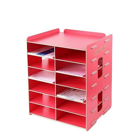 Contenitori Per Documenti Ufficio.Dei Qi Scaffale Per Documenti A5 Box Per Documenti Contenitore Per