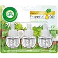 3-Pack Air Wick Scented Oil Coconut Splash Fragrance Refills