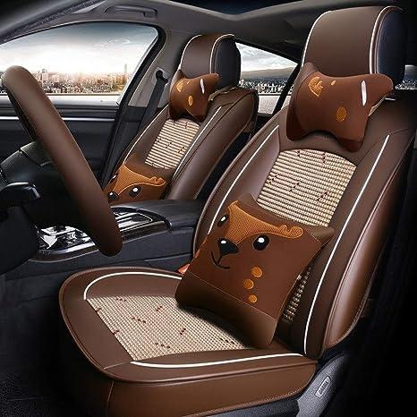 Car Seat Covers adatta CITROEN DS3 nero in similpelle set completo