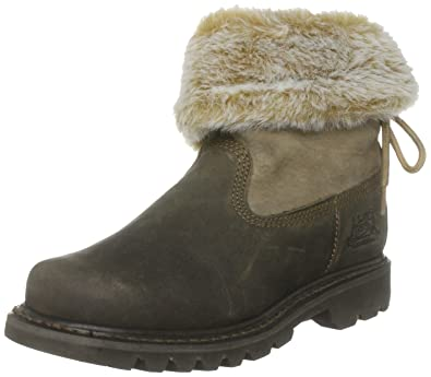 Cat Footwear Women's Bruiser Scrunch Nubuck Ankle Boots GL_1988