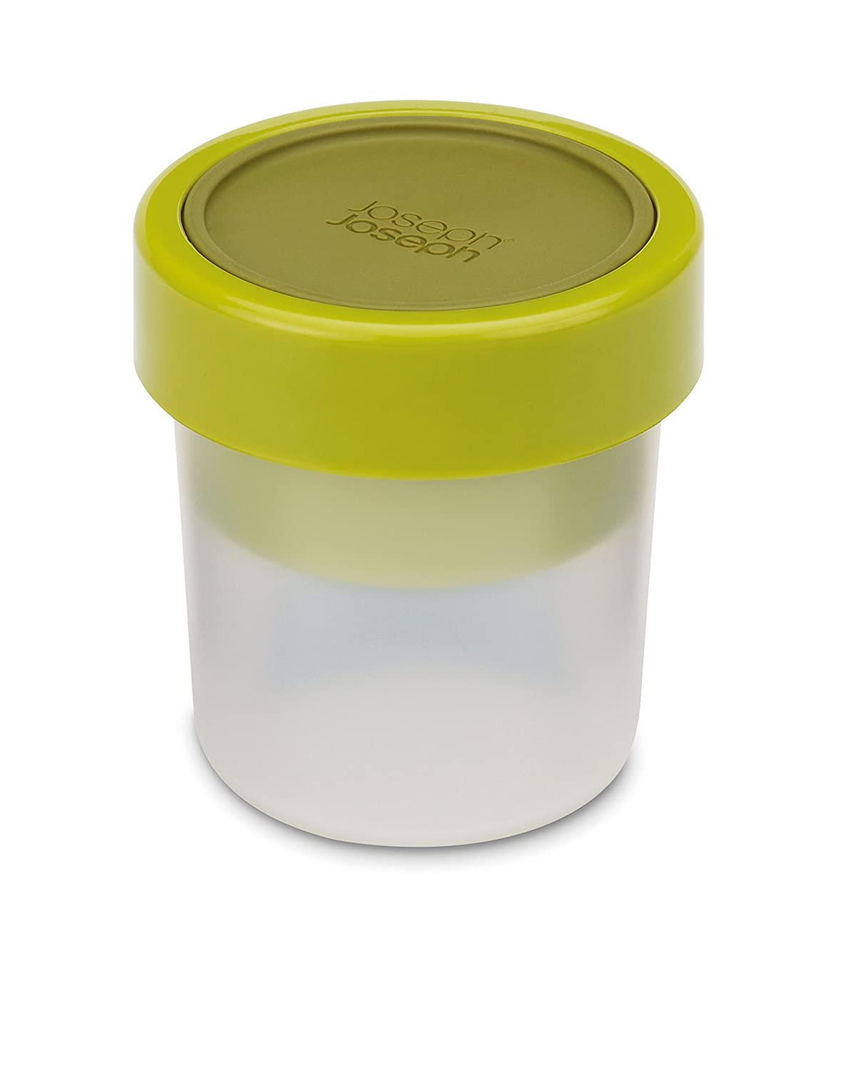Joseph Joseph 81025 Go Eat Compact 2 In 1 Snack Container, Green by Joseph Joseph