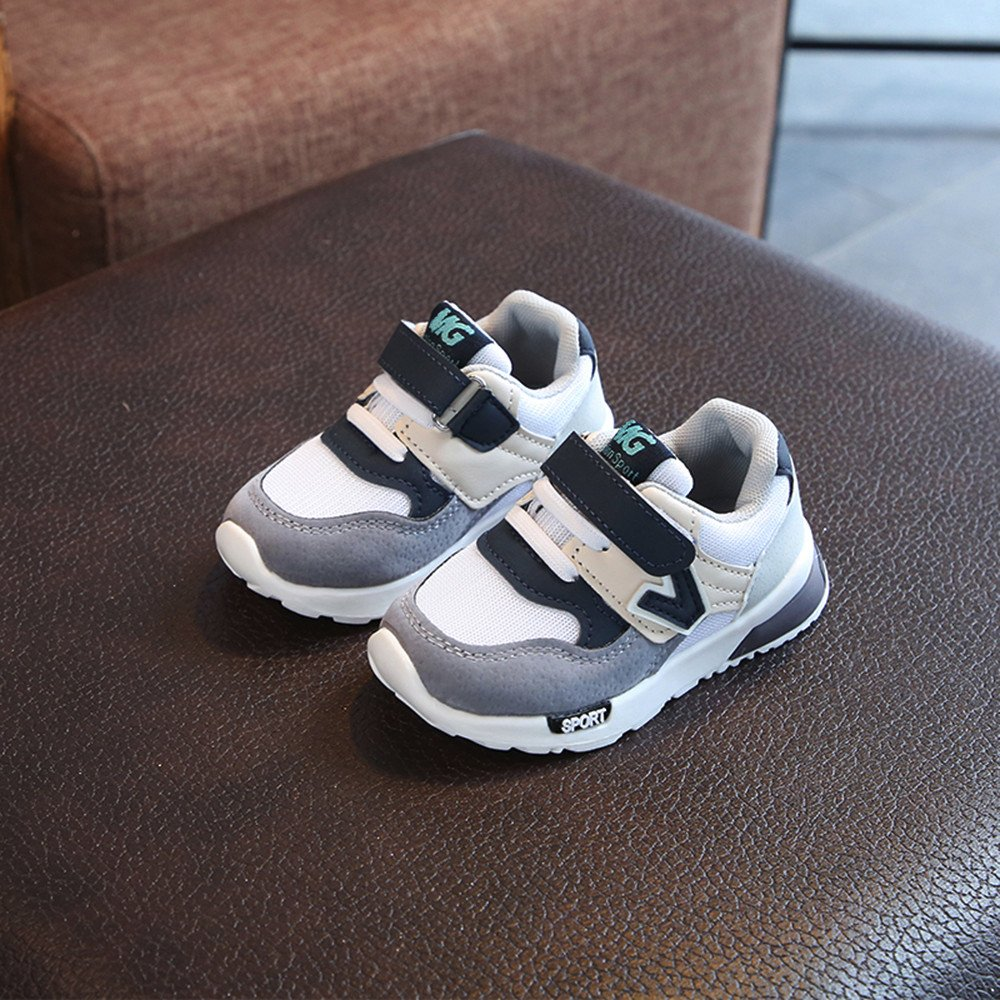 Cloudro Breathable Mesh Sneakers Little Boys Girls Running Shoes for 0-9 Years