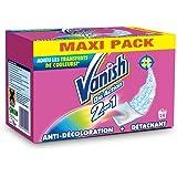 Vanish Pack de 24 Détachants Oxi Action 2 en 1 Anti Transfert