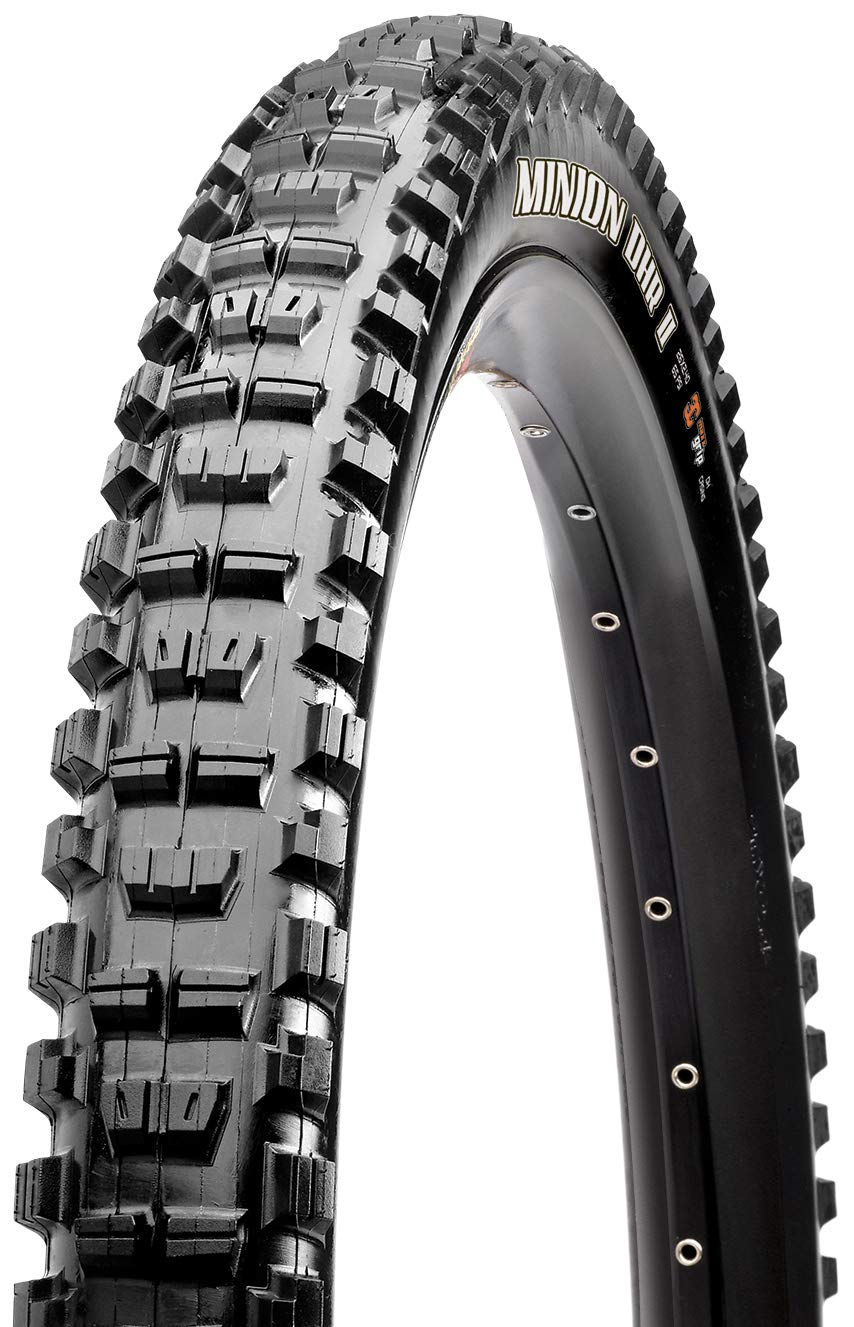 Maxxis EXO Dual Compound Minion DHR II Tubeless Folding Tire, 29 x 2.3-Inch