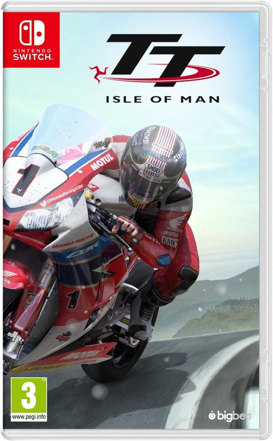 TT Isle of Man: Ride on the Edge - Nintendo Switch - Nintendo Switch [Importación inglesa]: Amazon.es: Videojuegos