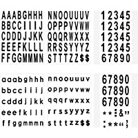 LUTER 210 Stuks 6 Vellen Brievenbus Nummers en Letters Stickers Waterdicht Zelfklevende Stickers voor Brievenbus, Huis…