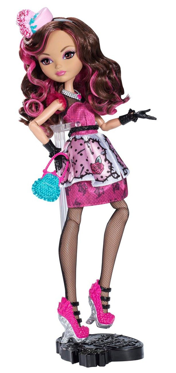 Ever After High Briar Beauty Hat-tastic Tea Party Replacement Shoes Pink Black