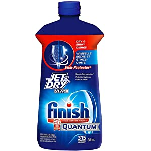Finish Quantum Rinse Aid Jet-Dry Ultra Ultimate Shine, 32 Fl. Oz / 946 ml - 315 Washes
