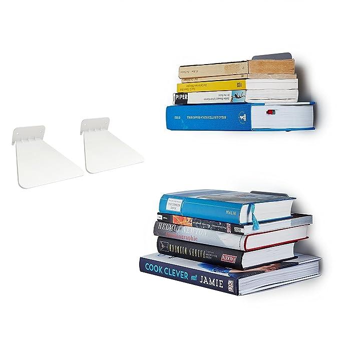 Mensole A Scomparsa Per Libri.Opinioni Per Ducomi Mensola Invisibile Per Libri Scaffale A