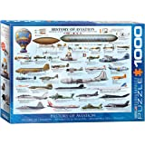 EuroGraphics History of Aviation Puzzle (1000-Piece)