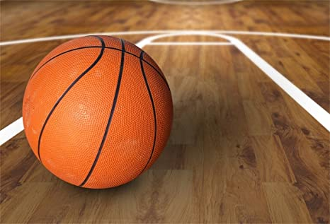 Amazon Aofoto 8x6ft Basketball On Wooden Floor Backdrop