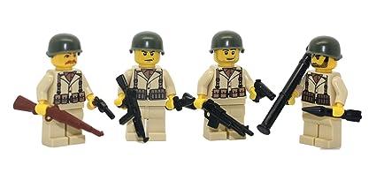 Amazon.com: US Army American WW2 Soldados Squad – Moderno ...