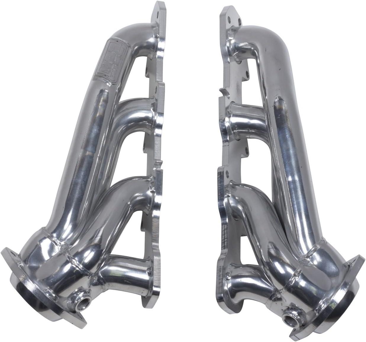 1 Pack BBK 40280 Silver Exhaust Headers 11-17 Dodge Hemi 5.7L Shorty Tuned Length - 1-3//4in Ceramic