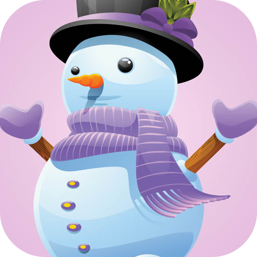 Frozen Snowman Free Fall - Kids help Cute Guy Find His Carrot Nose PRO VERSION
