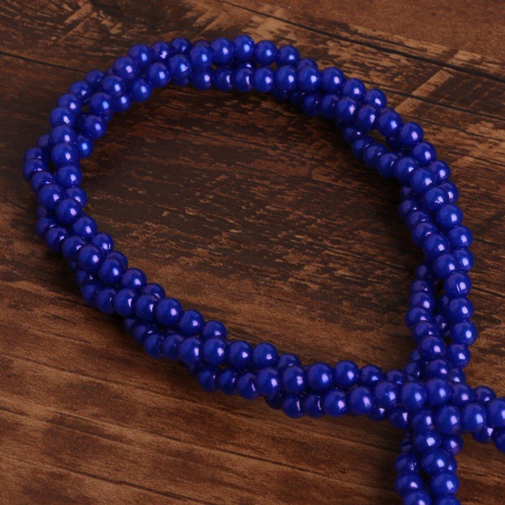 One JENOR Portachiavi Cordino Phone Holder Crystal Pearl da Collo massaggiatore Bling Portable Blue