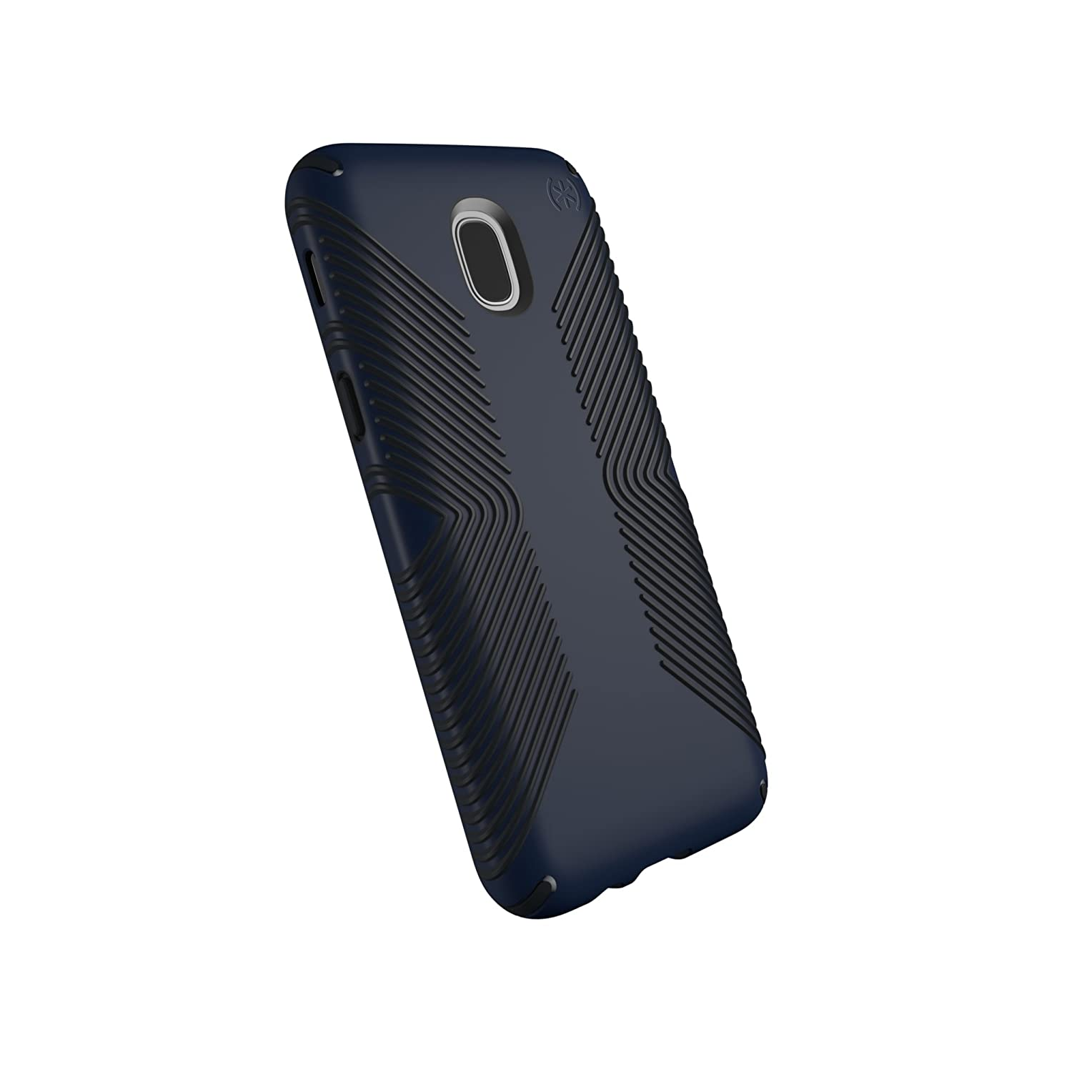 Speck Products Compatible Phone Case for Samsung Galaxy J7 (fits Verizon J7 V 2nd Gen; T-Mobile J7 Star), Presidio Grip Case, Eclipse Blue/Carbon ...