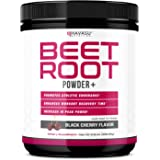 Havasu Nutrition Beet Root Powder - Supports Workout Recovery & Promotes Athletic Endurance, No Sugar, Black Cherry Flavor, N
