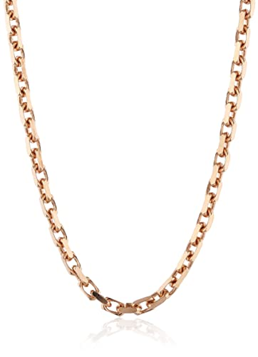 Engelsrufer Women's 925 Sterling Silver Rose Gold Plated Anchor Chain Necklace 0pTk0