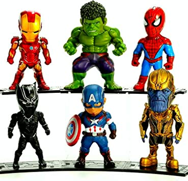 Spiderman Mini Block Character Superhero Marvel Action Figure Miniature Toy Gift