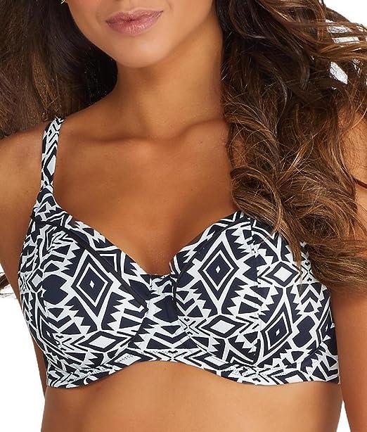 balcony bikini top Fantasie Beqa Underwire Balcony Bikini Swim Top FS6346