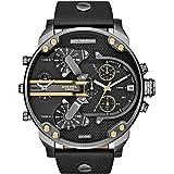Diesel Watches Mr. Daddy 2.0 Multifunction Leather Watch