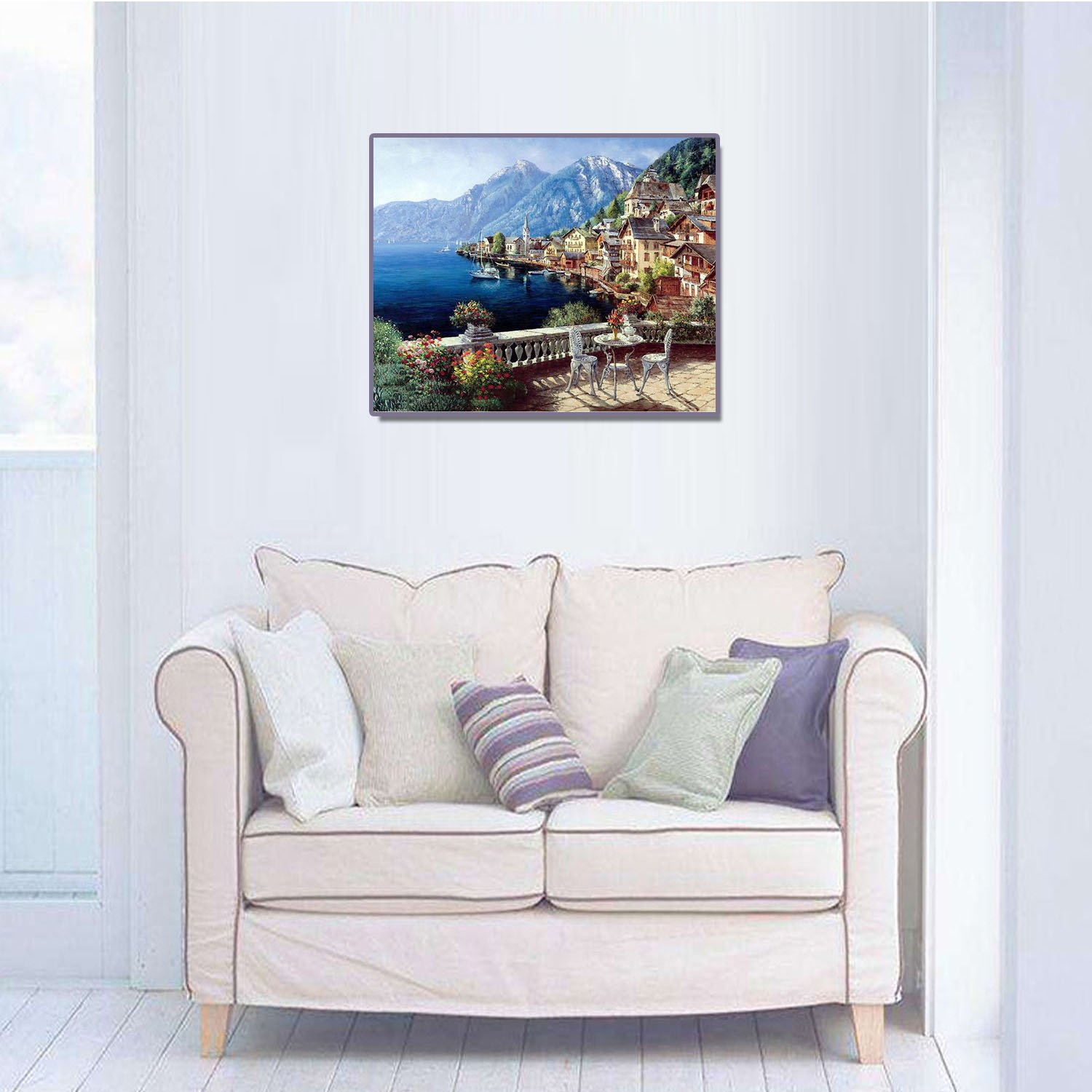 Amazon.com: Gosear Diy Oil Painting Paint By Numbers ...