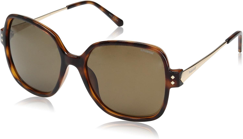 Polaroid PLD 4046/S IG R8V gafas de sol, Dorado (Havana Gold/Brown Pz), 55 para Mujer