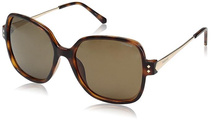 Polaroid Mujer PLD 4046/S IG R8V Gafas de sol, Dorado (Havana Gold/Brown Pz), 55: Amazon.es: Ropa y accesorios