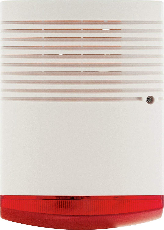 5583 SCHWAIGER Sirenen-Dummy//Sirenen-Attrappe//Alarmanlage-Sirene-Dummy//Attrappe//f/ürs Haus//Einbruchschutz//Sicherheit//im klassischen Design