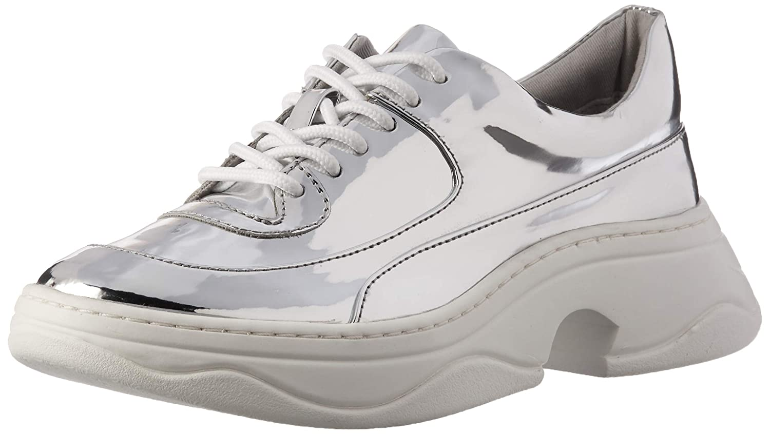 Silver Katy Perry Womens The Vandall Sneaker