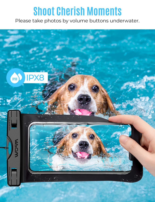 Google Pixel IPX8 Handy trockener Beutel Staubdichte Schneeschutzanlage Handytasche f/ür iPhone Wasserfeste Handy H/ülle Nokia Sto/ßfeste 4 St/ück HTC Sony Mpow wasserdichte H/ülle LG