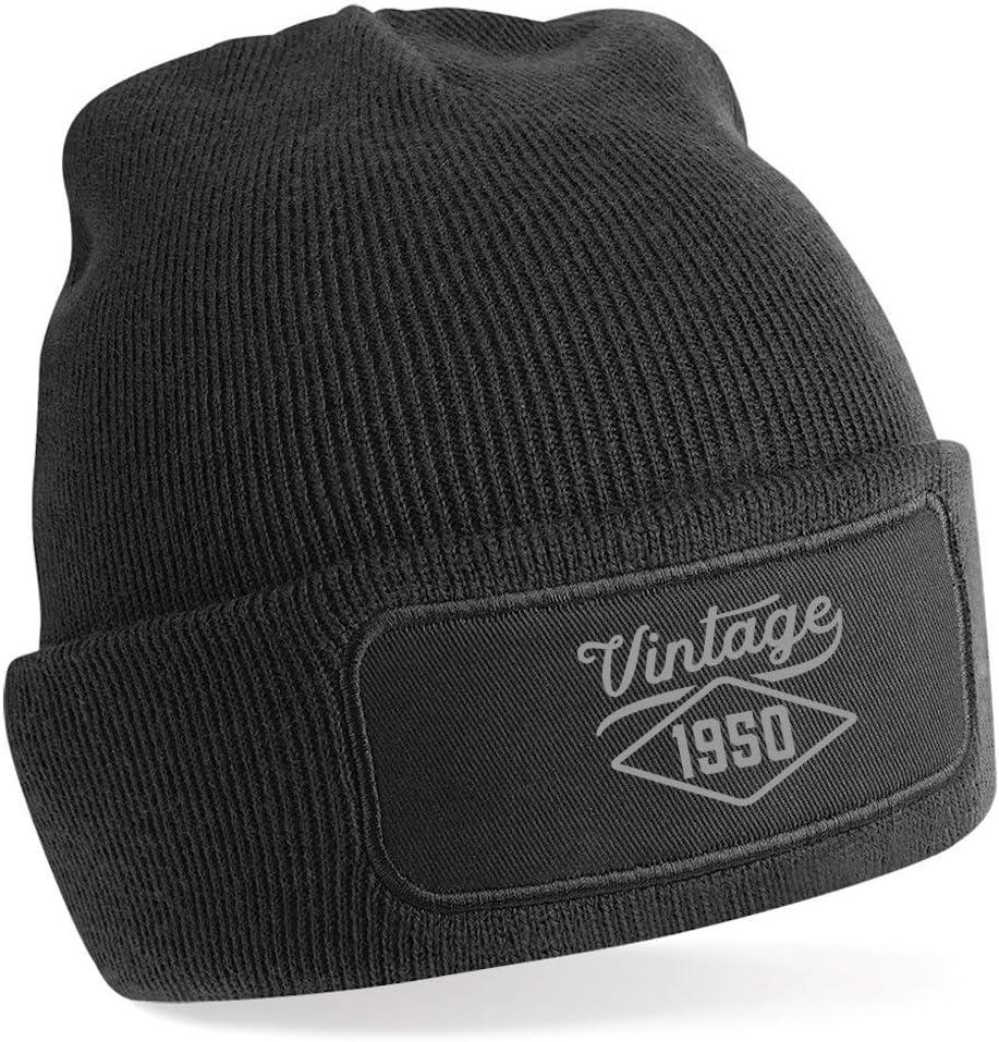 Invent Print Design Black 70th Birthday Hat Gift for Men Vintage Beanie Keepsake Present Gift Idea