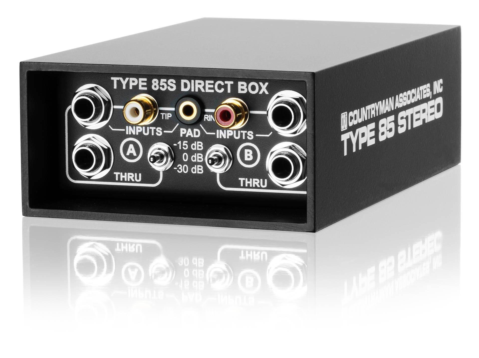 Countryman DT85S  Type 85S Direct Box (Black)