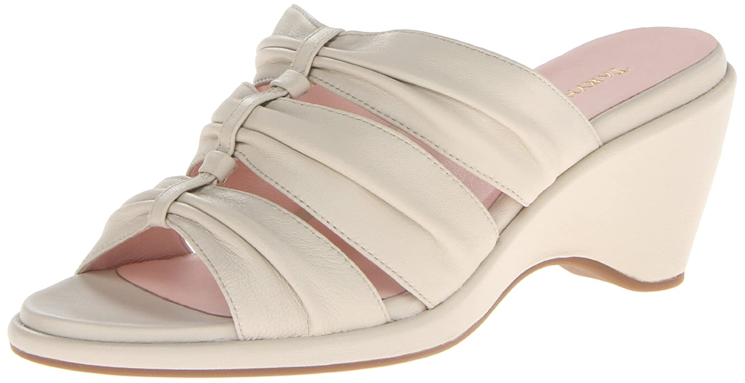 Taryn Rose Women's Maison Wedge Sandal B00EZ7296M 8 B(M) US|Bone
