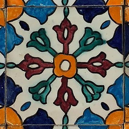 pintadas a mano marroquí azulejos orientales baldosas de ...