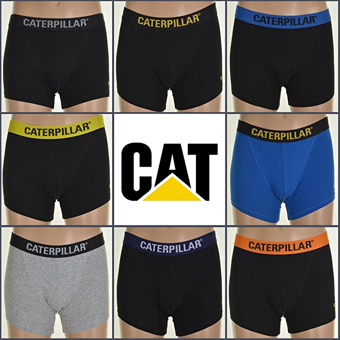 Caterpillar Mens Workwear Boxer Shorts Pack of 6