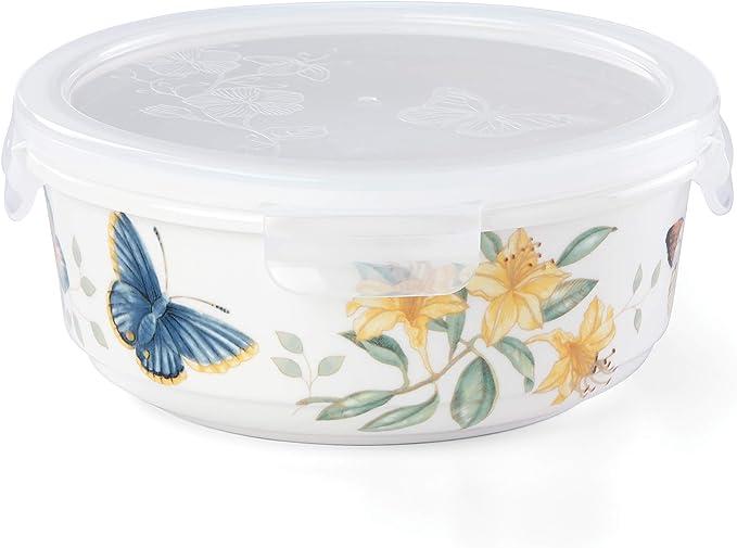Lenox 名瓷蝶舞花香 密封储放碗