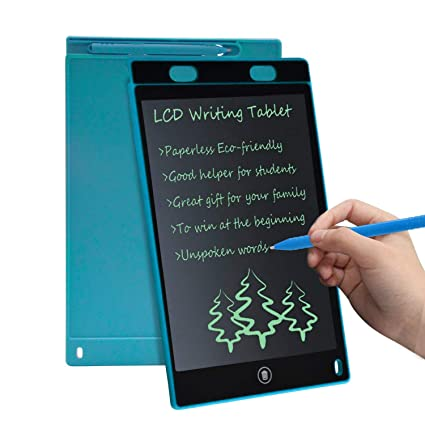 Trost - LCD Writing Screen Tablet Drawing Board for Kids/Adults, 8 5  Inch(Random Color)