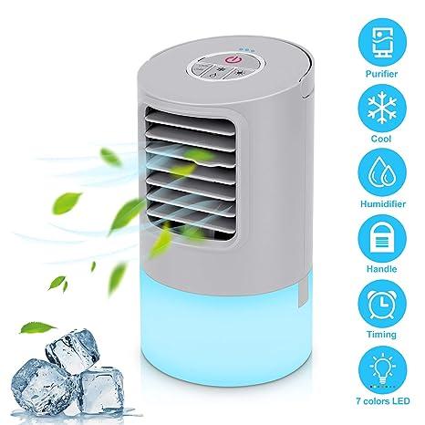Amazon com: Portable Air Conditioner Fan,Personal Desktop