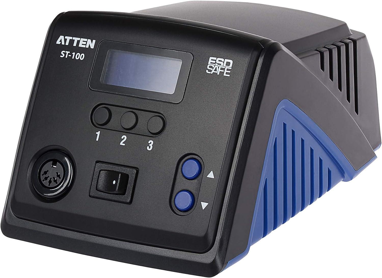 150 /¡ 450 /¡ Legierung Heizung 100 W Temperatur Atten St-100 L/ötkolben mit St/änder