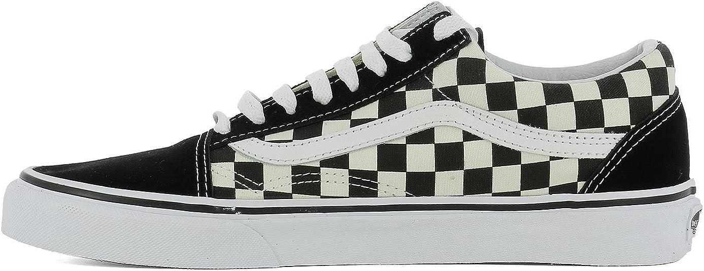 Vans Herren VA38G1P0S Weiss Stoff Sneakers: