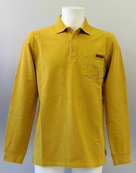Maloja Camiseta Polo Manga Larga Sudadera Top Hug Pointm. Amarillo ...