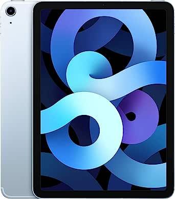 2020 Apple iPadAir (10.9-inch, Wi-Fi + Cellular, 64GB) - Sky Blue (4th Generation)