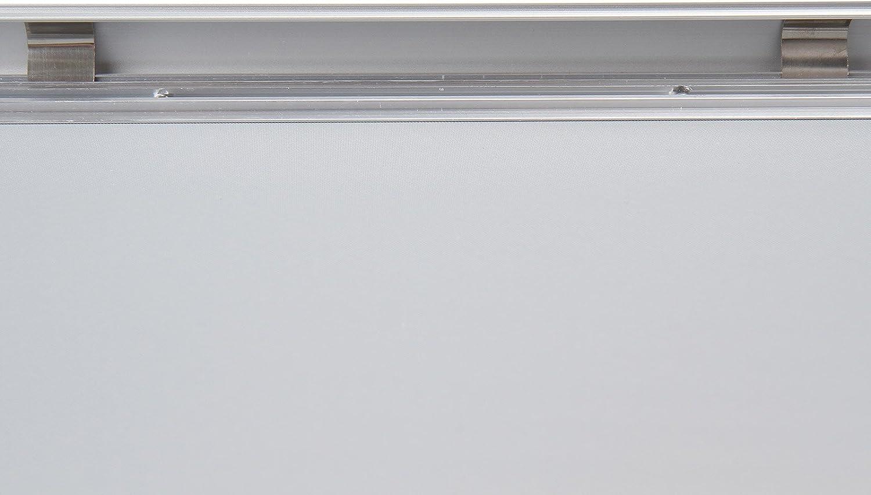 Protection PVC Porte-Affiches en Argent/é Image Format et Set au Choix Structure L/ég/ère Cadre Photo en Aluminium 1x, A0 D/écoration Murale Cadre pour Poster
