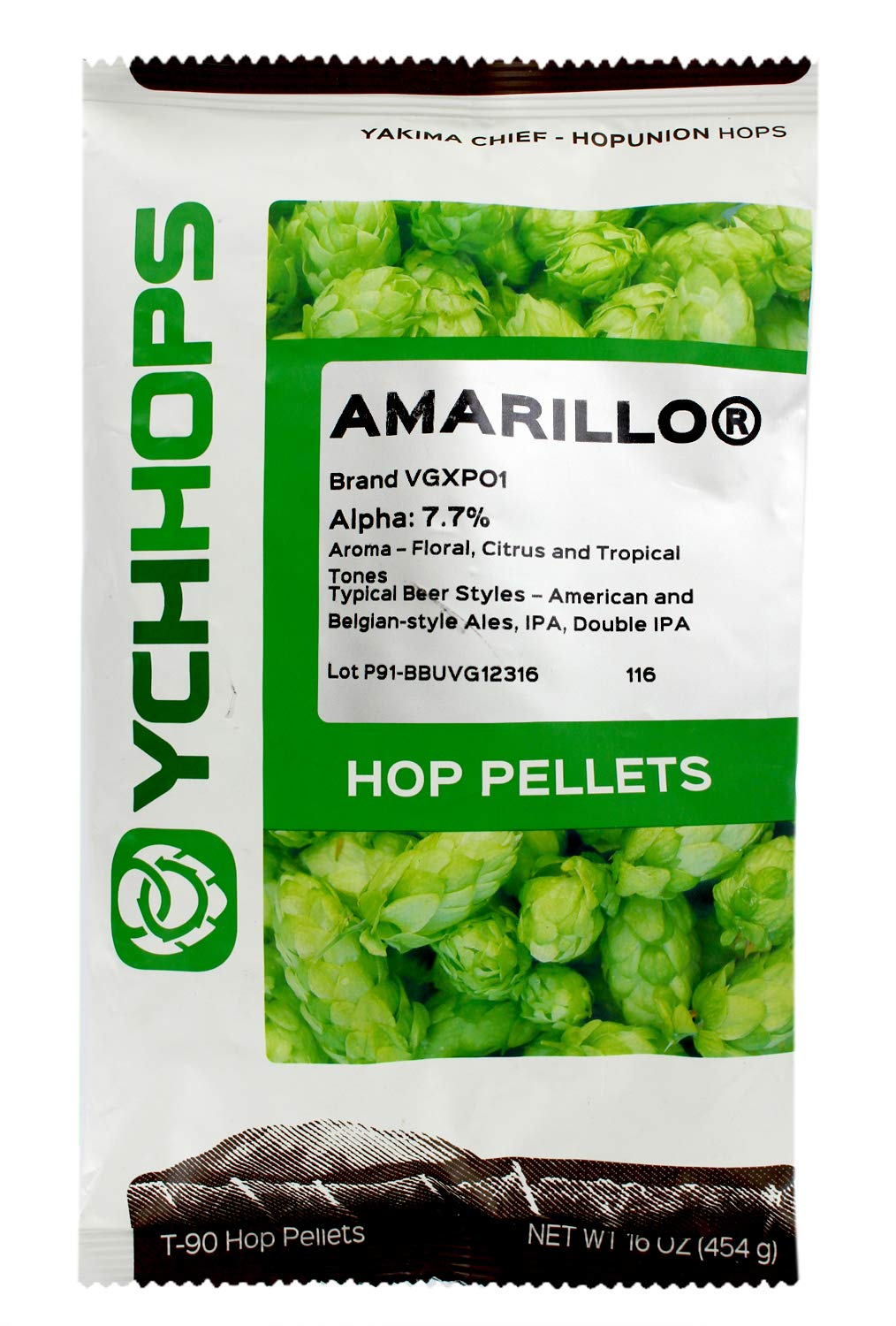 Learn To Brew LLCAmarillo Hop Pellets for Home Brewing 1 lb.