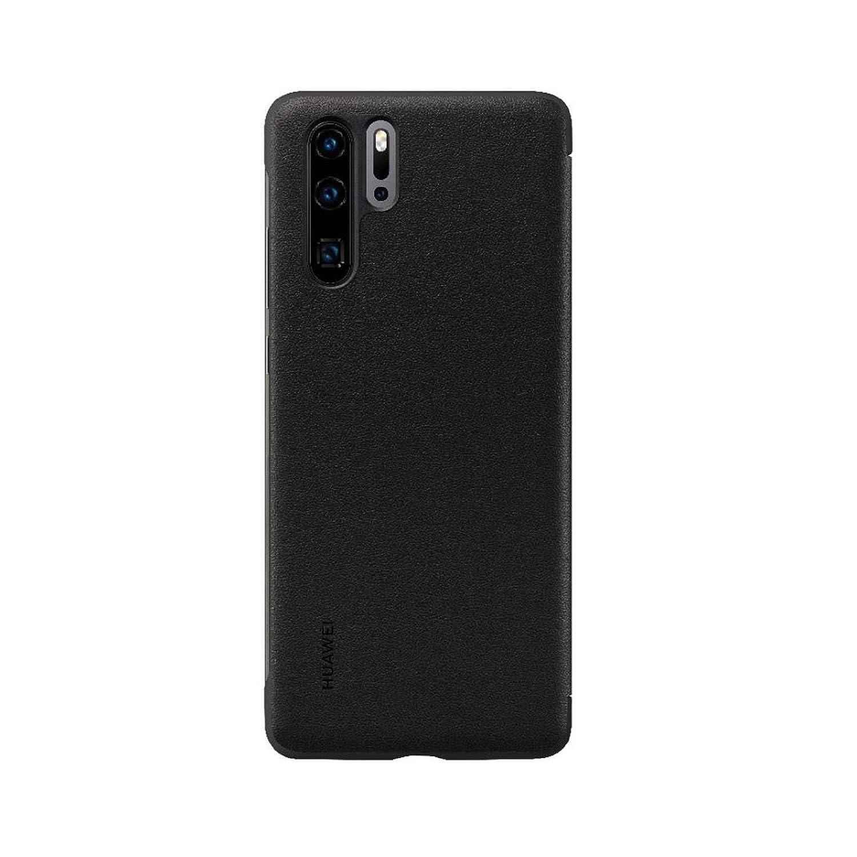 new arrival 32734 b7183 Huawei P30 Pro Case Smart View Flip Cover - Black