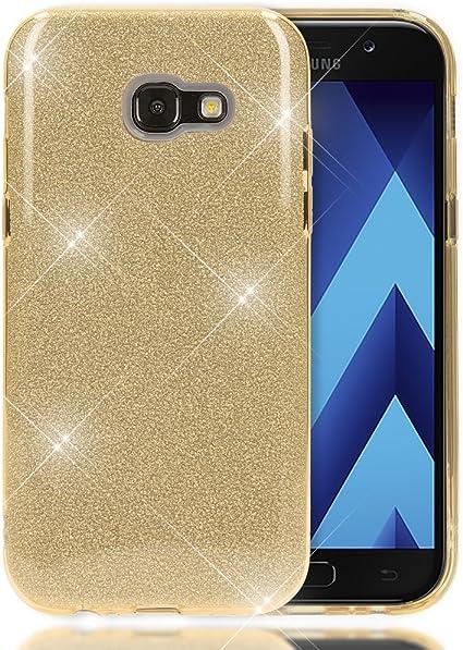 NALIA Purpurina Funda Compatible con Samsung Galaxy A5 2017 ...